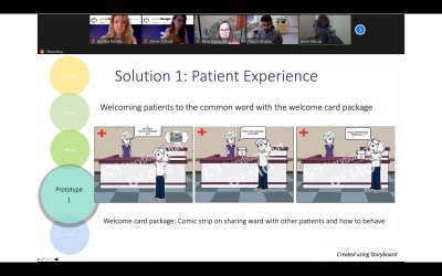 Our Design Thinking in Healthcare Innovation Online Course Wraps-up